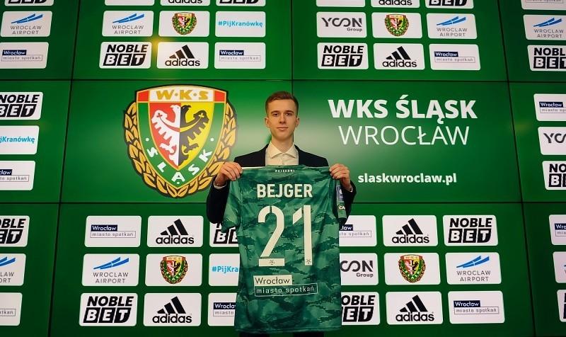 Z Manchesteru United do Śląska. Bejger zawodnikiem WKS-u