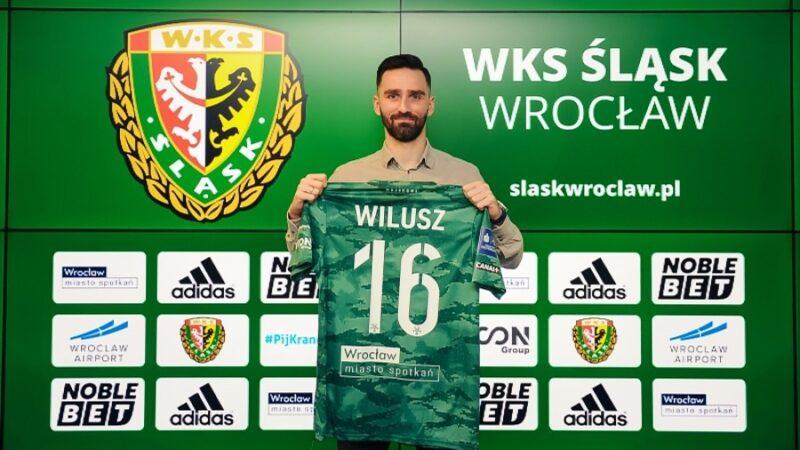 Maciej Wilusz został piłkarzem Śląska Wrocław