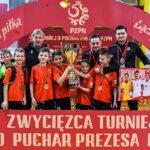 Parasol Wrocław zdobył Puchar Prezesa PZPN w kategorii U-11