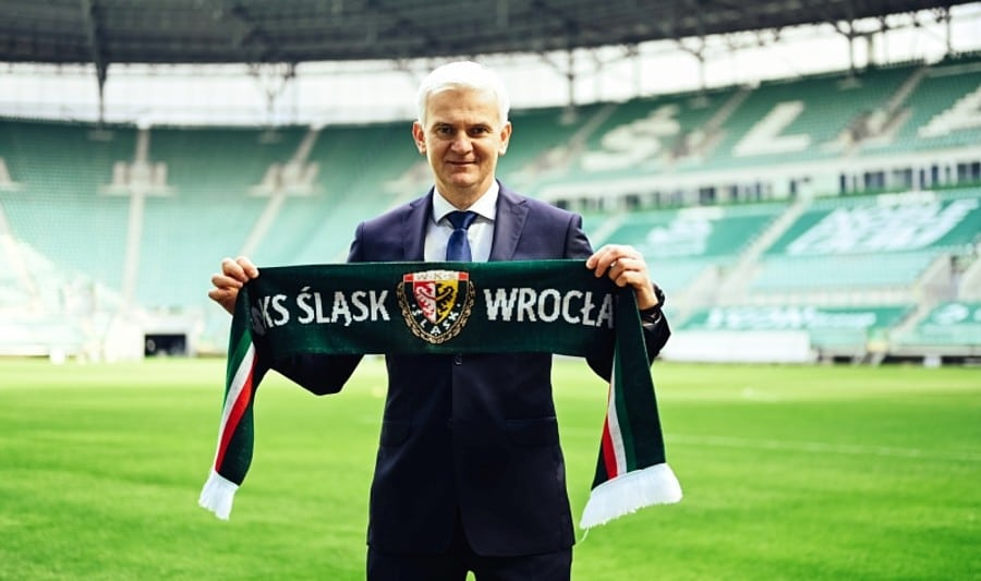 Jacek Magiera nowym trenerem Śląska Wrocław