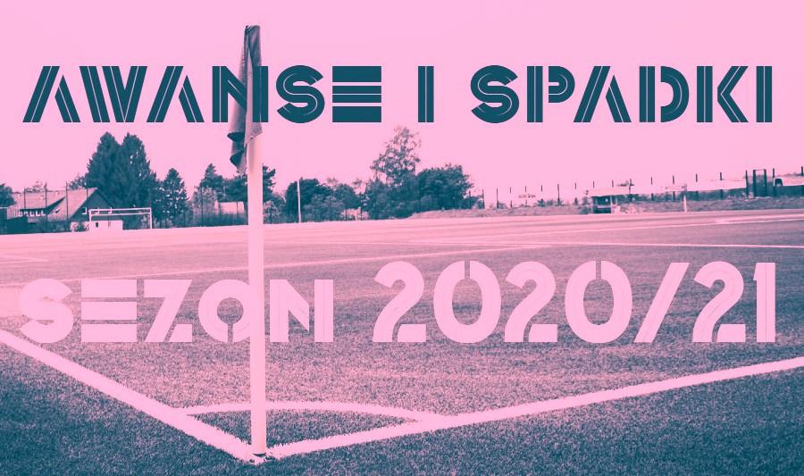 Awanse i spadki 2020/21. Gdyby sezon zakończył się dziś [III LIGA - OKRĘGÓWKA 30.03.]