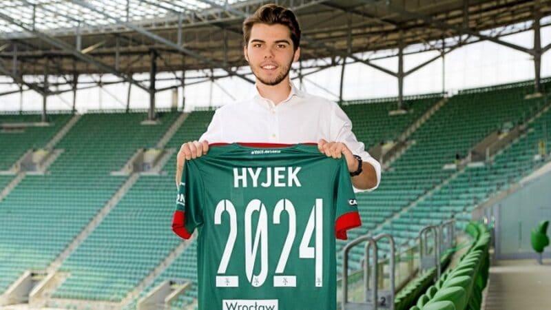 Javier Hyjek w Śląsku Wrocław