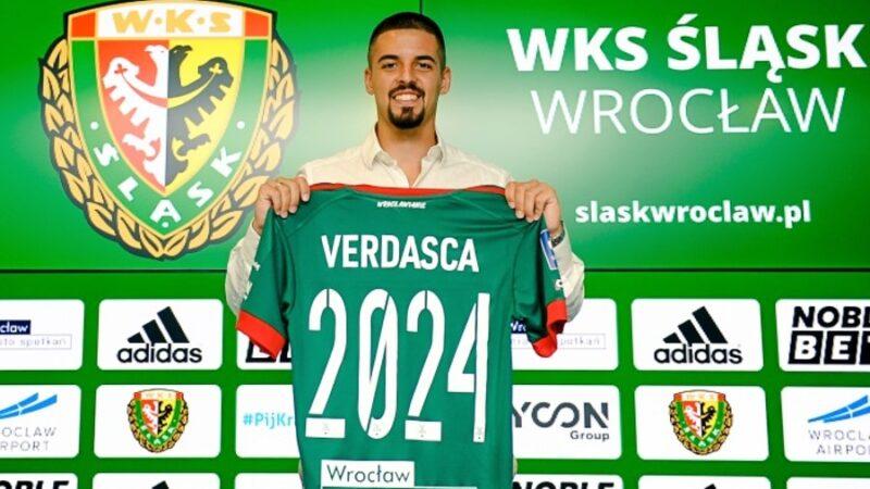 Diogo Verdasca zawodnikiem Śląska Wrocław