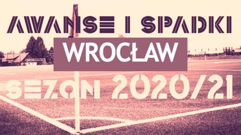 Wrocław awanse i spadki 2020/21