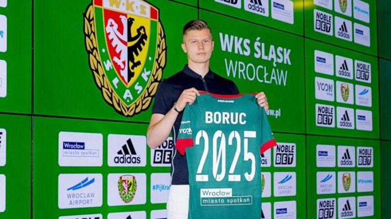 Maksymilian Boruc bramkarzem Śląska Wrocław
