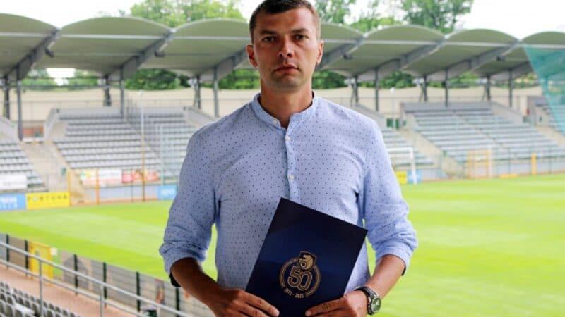Grzegorz Mokry trenerem Miedzi II Legnica