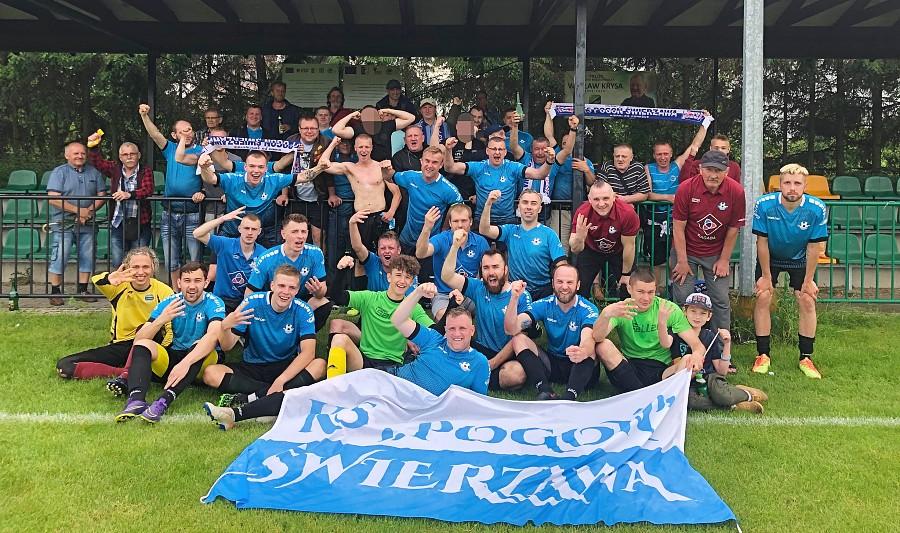 Pogoń Świerzawa pierwszym beniaminkiem IV ligi w regionie