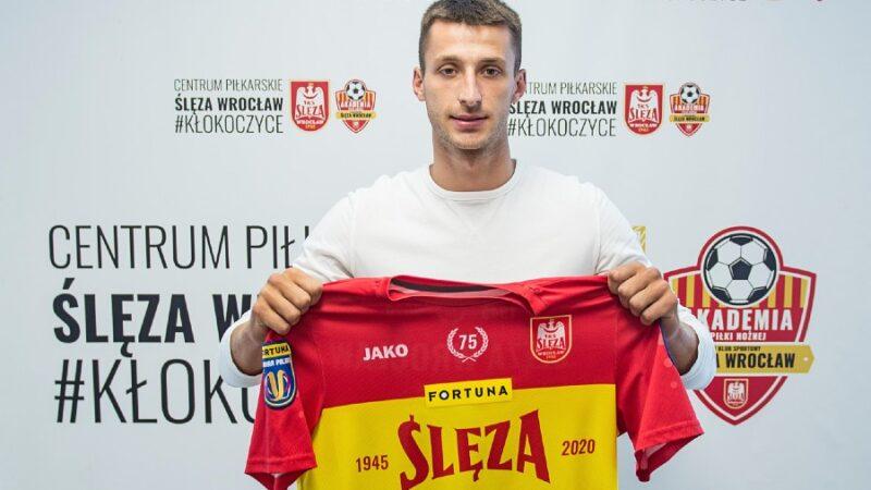 Adrian Niewiadomski Ślęza Wrocław