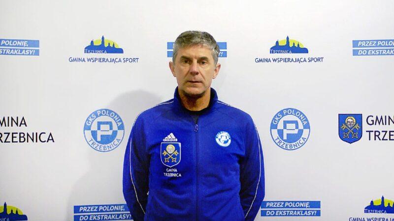 Marek Nowicki nie jest trenerem Polonii Trzebnica