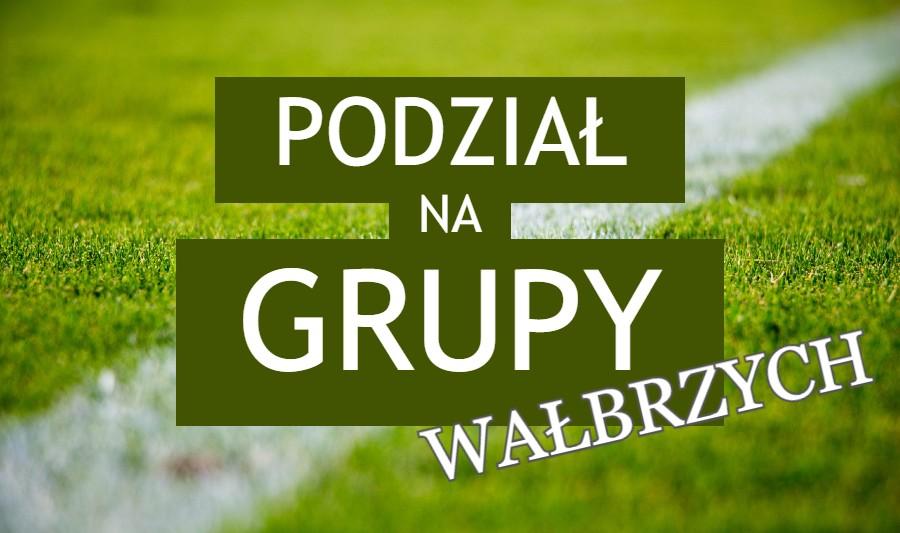 Podział na grupy w niższych ligach w podokręgu Wałbrzych
