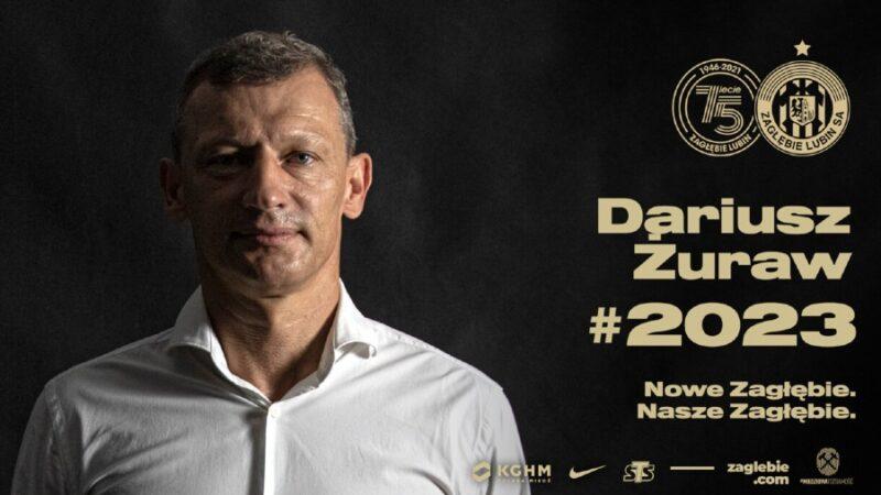 Dariusz Żuraw trenerem Zagłębia Lubin