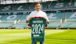 Erik Exposito zostaje w Śląsku. Przedłużył kontrakt do 2024 roku!