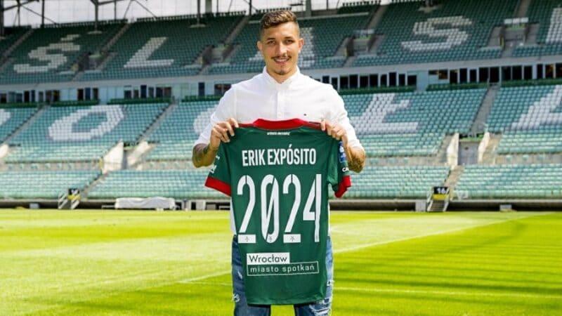 Erik Exposito przedłużył kontrakt ze Śląskiem Wrocław