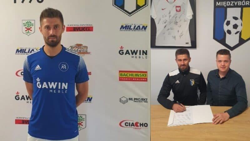Grzegorz Kuświk zawodnikiem Zenita Międzybórz