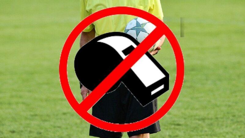 Protest Sędziów Piłki Nożnej